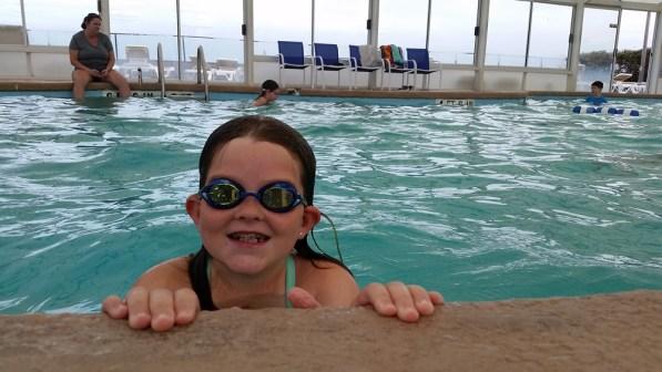 Swimming Ellie