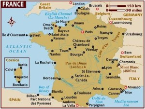 What Is The National Map of France?