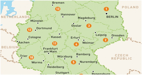 What Is The National Map of Germany?
