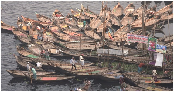 What is Symbol of Fishing Boat In Bangladesh ?