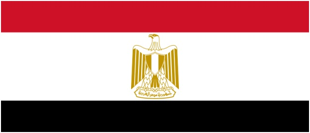What is The National Flag of Egypt?