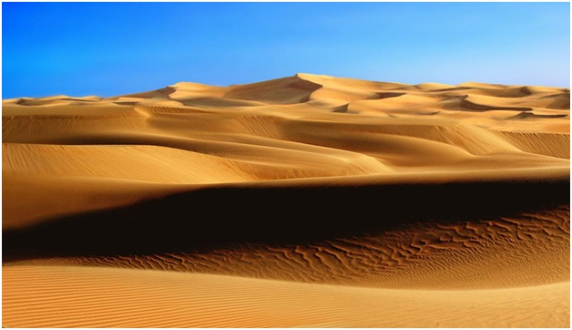 what is the  Famous Desert of Saudi Arabia?