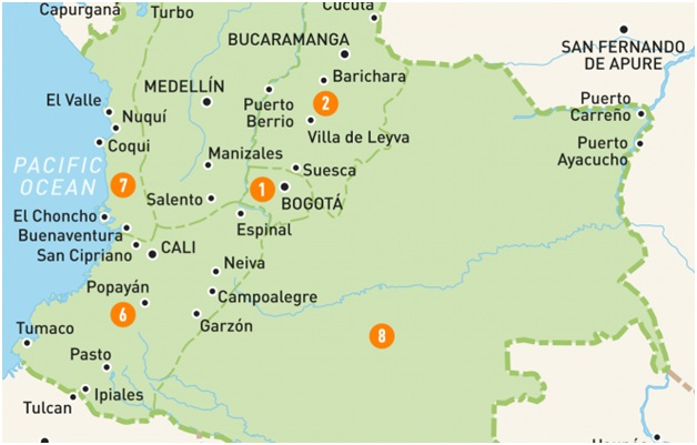 What Is The National Map of Colombia?
