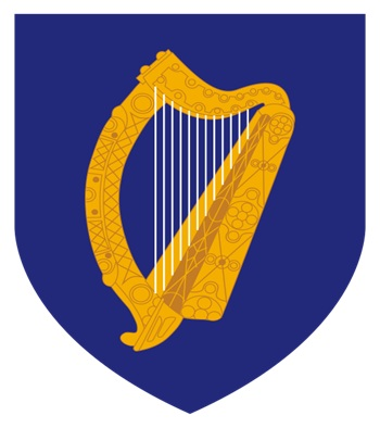 What is The National Coat of Arms of Ireland?