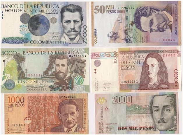 What is The National Currency of Colombia?