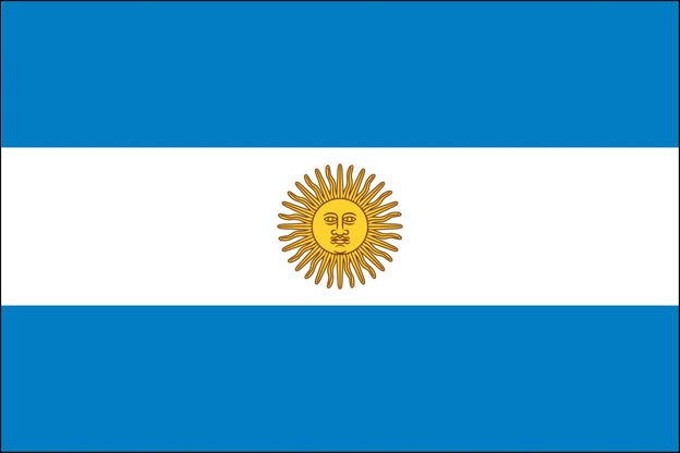 What is The National Flag of Argentina?