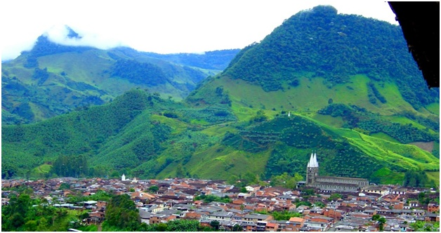 What is The National Mountain of Colombia?