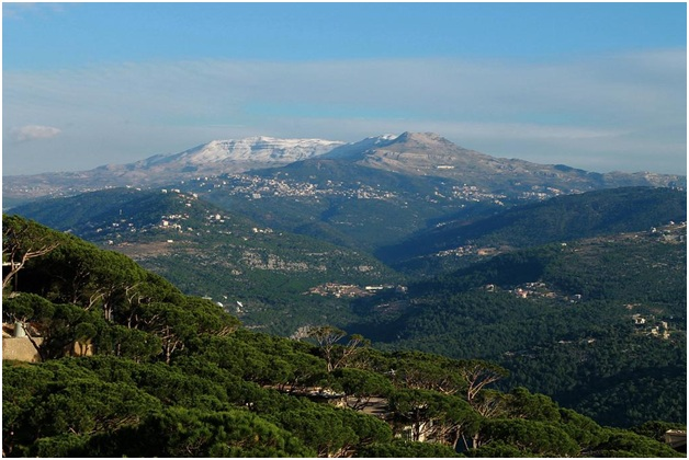 What is The National Mountain of Lebanon?