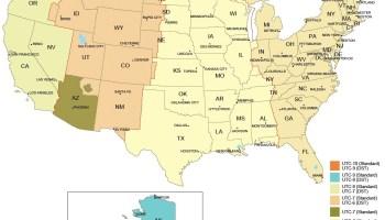 pdf time zone map of the usa | WhatsAnswer