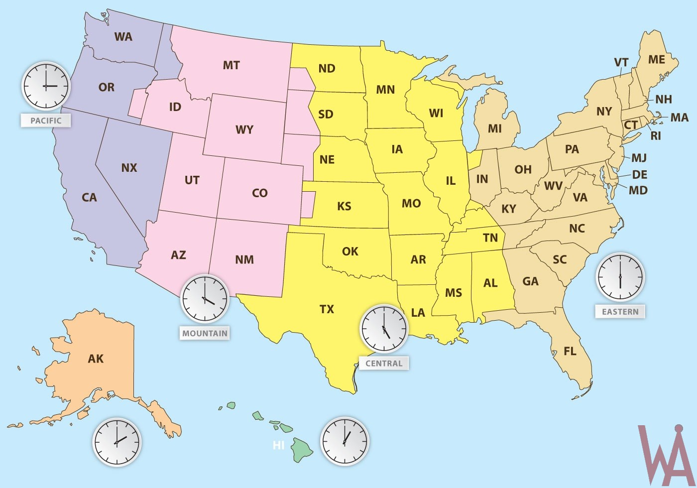 Time Zone Maps Of The USA | WhatsAnswer Time Zones Maps Usa on easy time zone map, central time zone map, nd time zone map, daylight savings time zone map, africa time zone map, north america time zone map, global time zone map, usa states map, russia time zone map, south dakota time zone map, ky time zone map, usa regions map, area code map, timezone map, pacific time zone map, west coast time zone map, michigan time zone map, world map, mexico time zone map, printable time zone map,