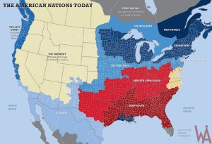 US Nations map