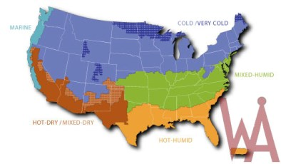 Climate Zone Map Of The Us Whatsanswer - Climate-map-of-us