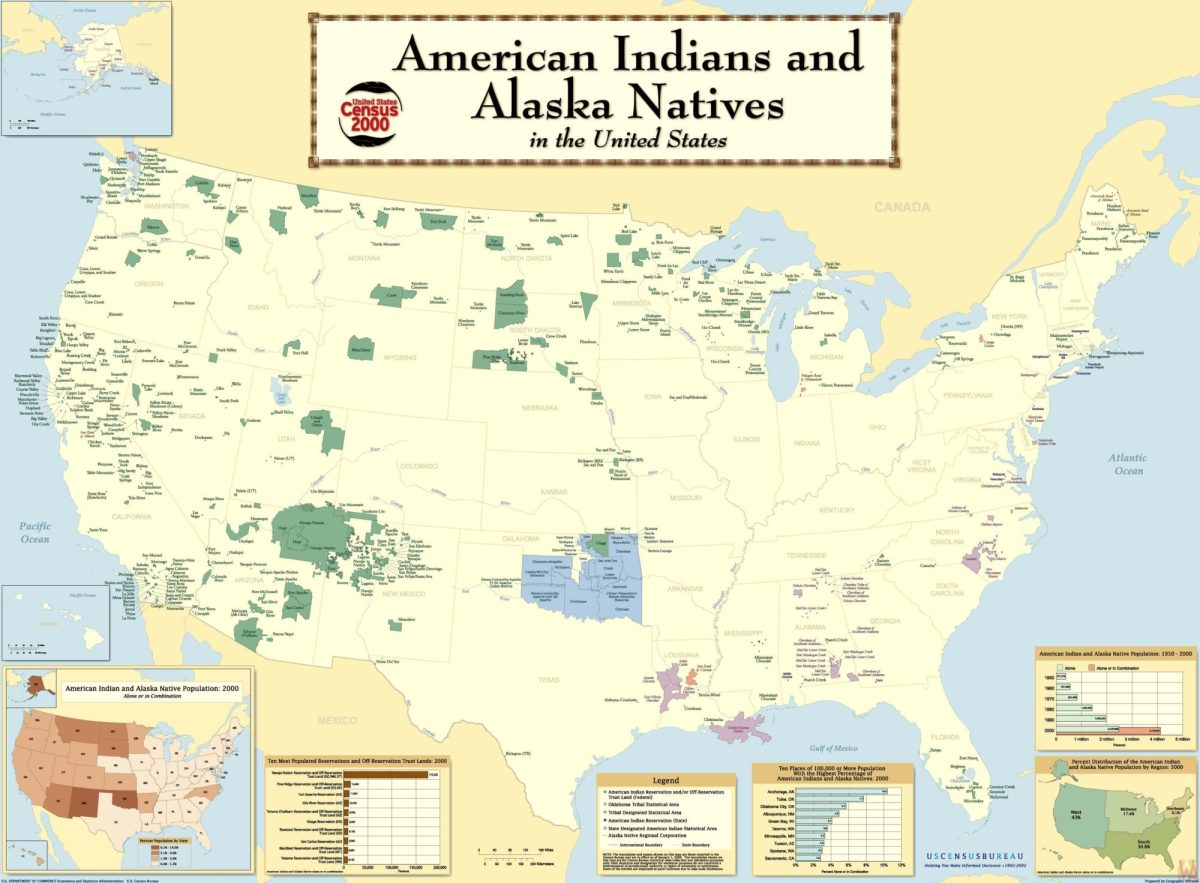 The Map of Alaska Natives in the United States | WhatsAnswer