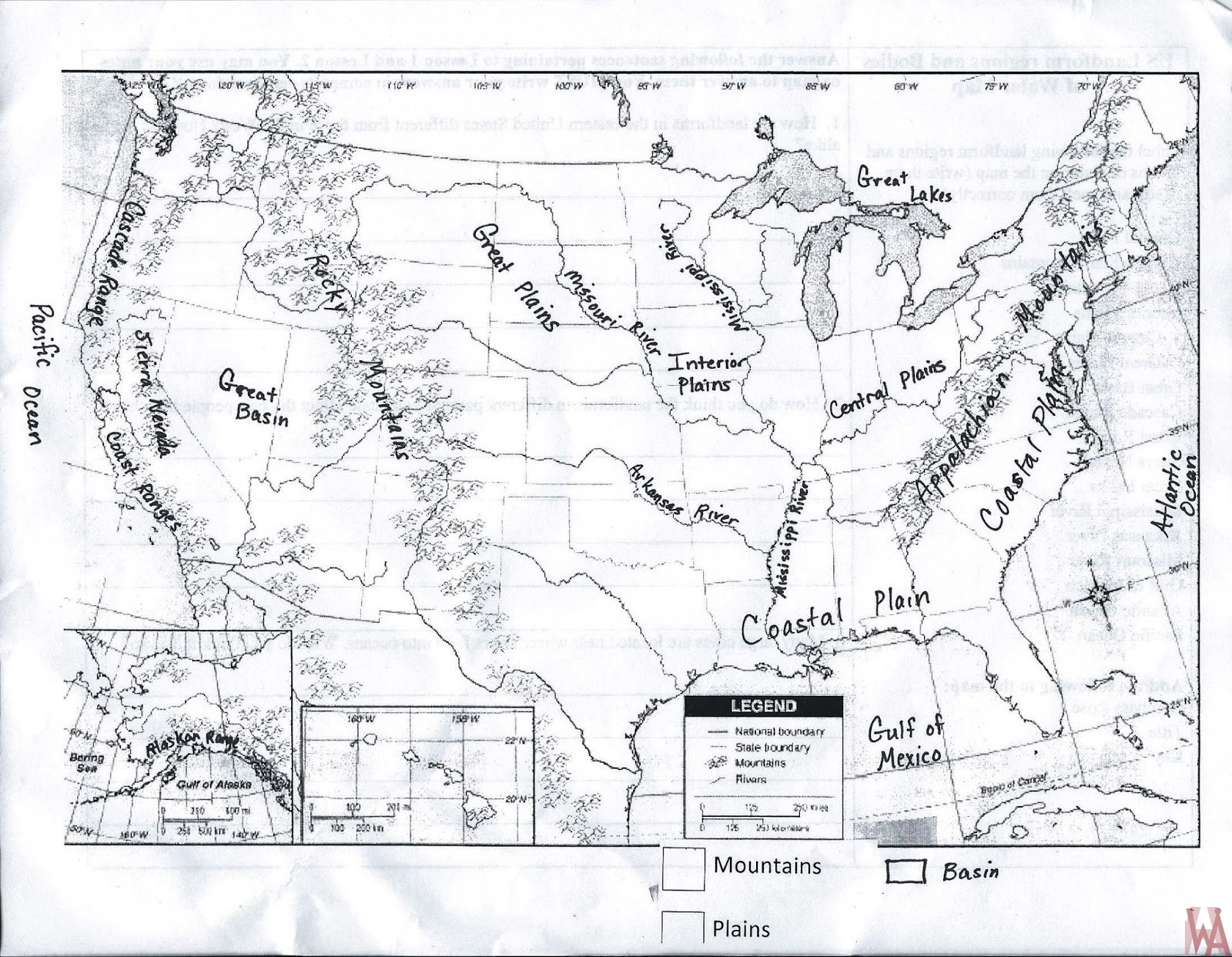 Topographical Maps Of The Usa