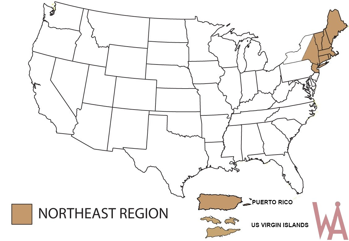 Blank US Map | Outline Map of the US