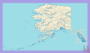 Alaska Rivers Map |  Rivers  Map of Alaska – 2