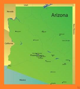 Arizona Detailed  Map |  Detailed  Map of Arizona