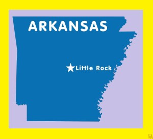 Arkansas Capital  Map |  Capital  Map of  Arkansas