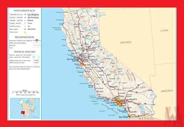 Political Map Of Nevada.California Political Map Political Map Of California Whatsanswer