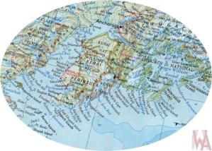 Map of Kenai