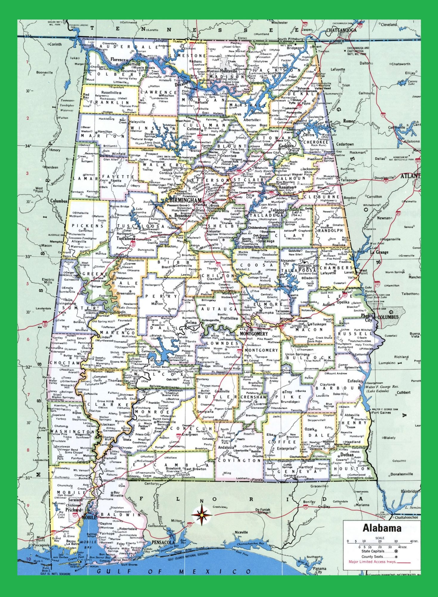 Alabama Large Highway Map | Alabama-city-county-political ... on map of alabama states, alabama state map with major cities, map showing alabama counties, map of alabama gulf coast, map of alabama mountains, north alabama map with cities, map of california cities, map of alabama counties, map of alabama river systems, map of southern alabama, map of al, map of alabama coal mines, map of decatur alabama area, map of alabama caves, map of alabama gulf beaches, map of alabama florida coast, alabama map with all cities, map of alabama games, map of alabama lakes, map of utah cities,
