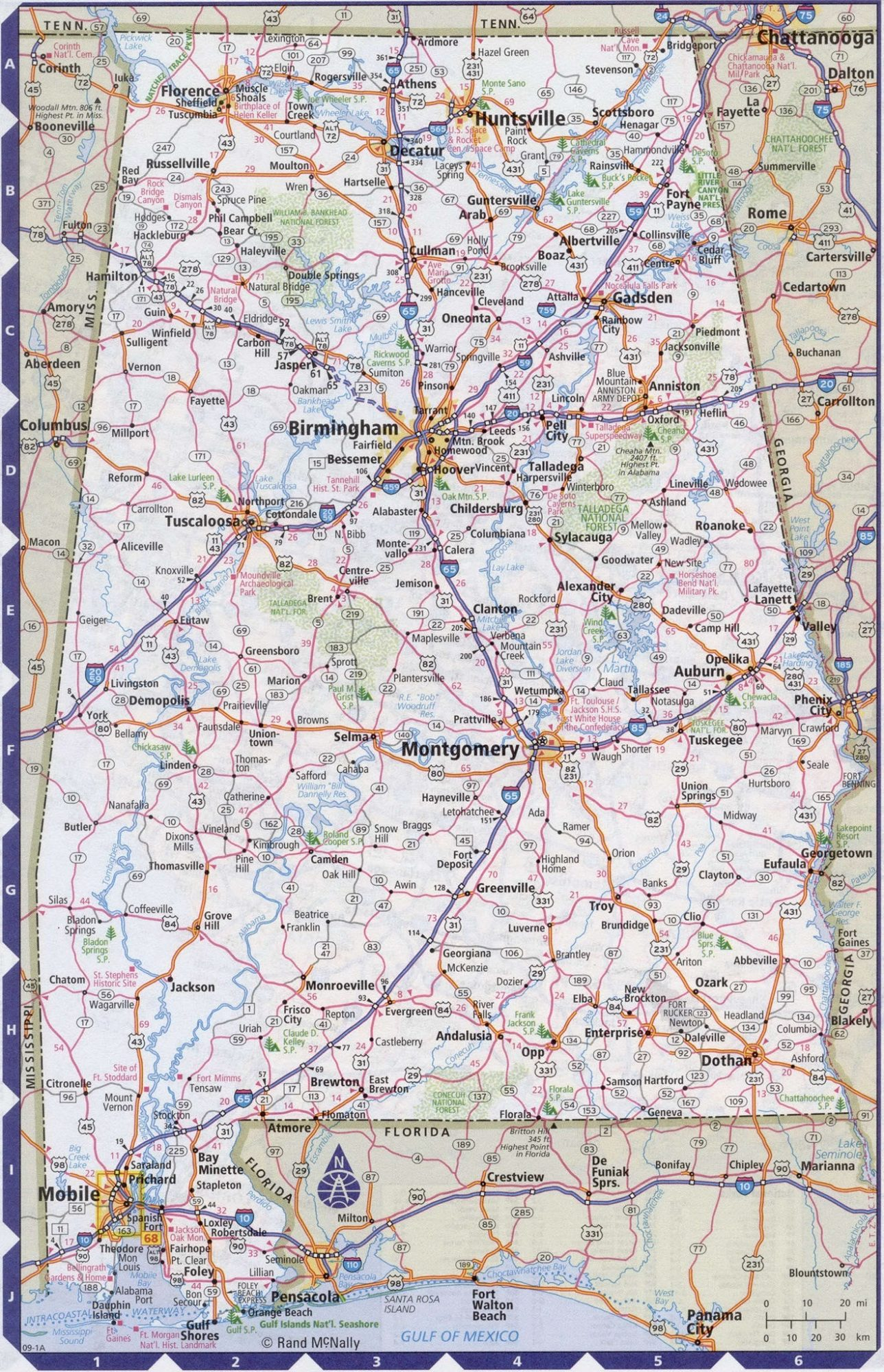 State Highway Map | United States | WhatsAnswer