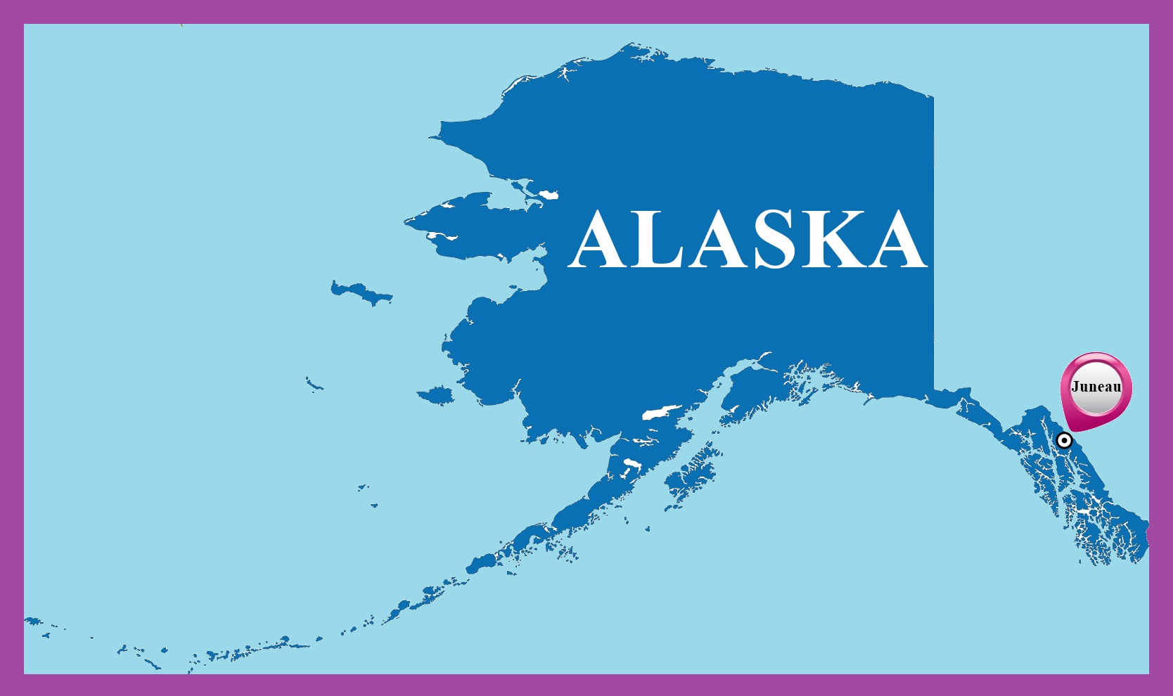 Alaska Capital Map | Large Printable Map