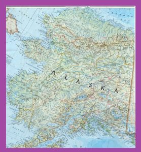 Alaska Large Detailed Map |  Large Detailed Map of Alaska, Printable