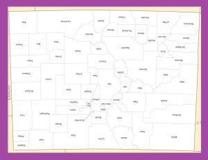 Colorado County Map | Large Printable and Standard Map 2