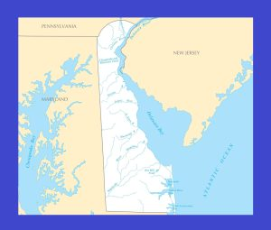 Delaware River Map | Large Printable and Standard Map