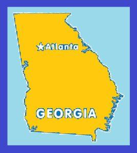 Georgia Capital Map | Large Printable and Standard Map 15