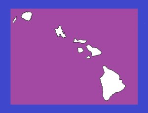 Hawaii Blank Outline Map | Large Printable and Standard Map 11