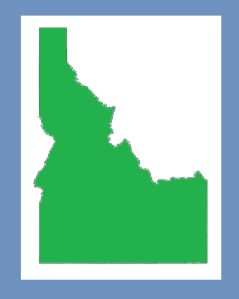 Idaho Blank Outline Map | Large Printable and Standard Map 9