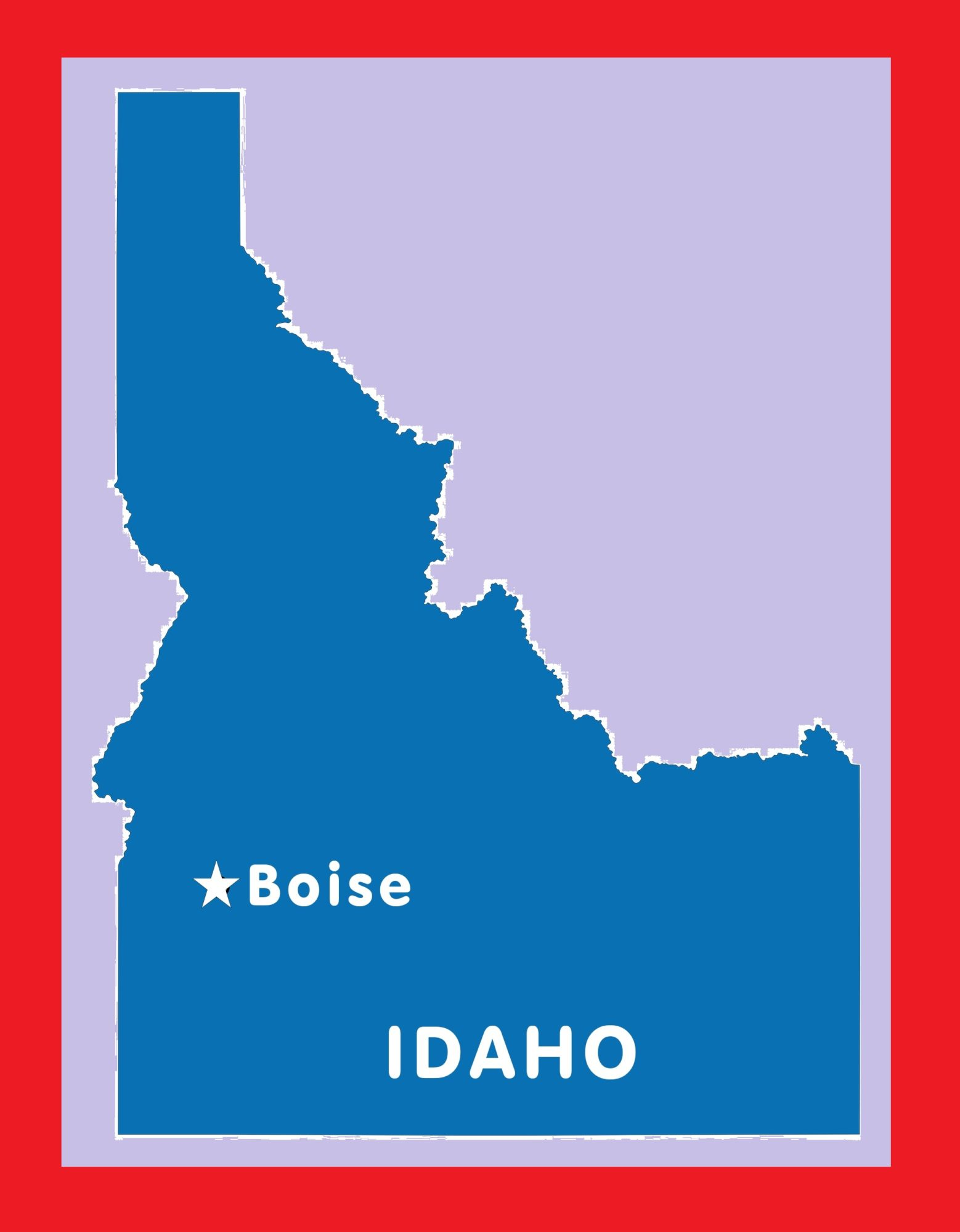 Idaho Capital Map | Large Printable and Standard Map 10