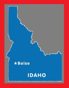 Idaho Capital Map | Large Printable and Standard Map 2