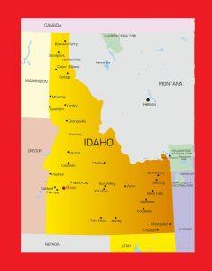 Idaho City Map | Large Printable and Standard Map