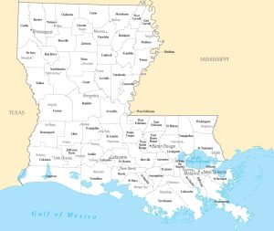 Louisiana City Map | Large Printable High Resolution and Standard Map