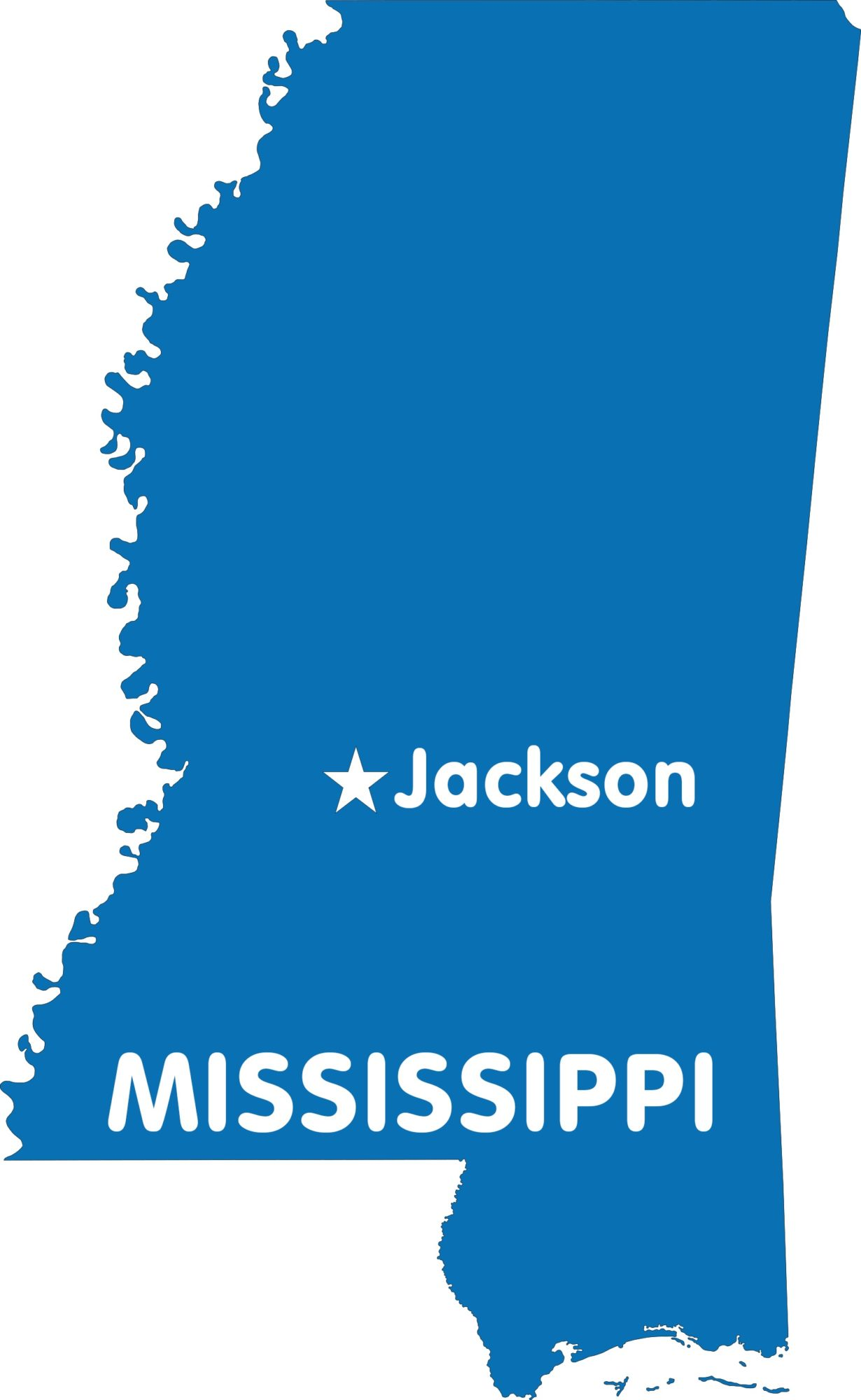 Mississippi Capital Map | Large Printable High Resolution and Standard Map