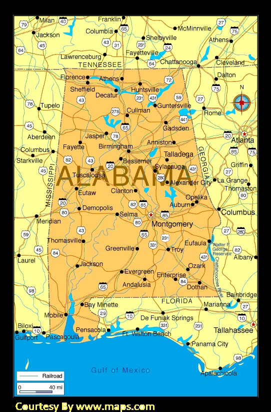 The Alabama State | The United States | WhatsAnswer