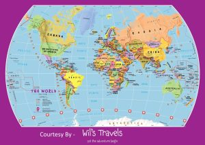 The World Political Globe Map | Large, Printable, Children Choice,Political Map