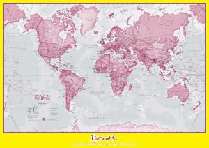 The World Political Map | Large, Printable, Children Choice, Political Map .3