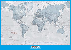 The World Political Map   Large, Printable, Children Choice, Political Map – 7