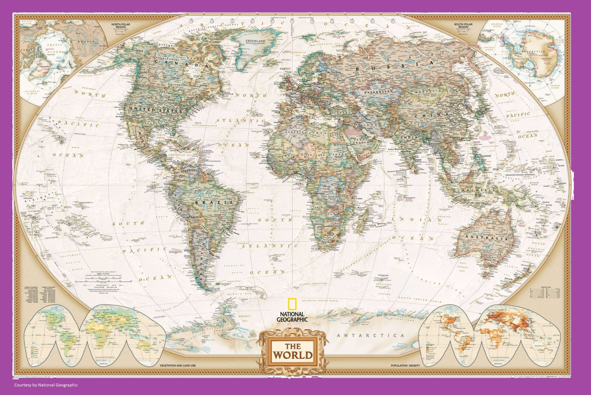 The World Political Globe Map | Large, Printable, Children Choice, Political Map-2