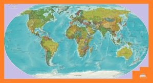 The World Political Globe Map | Large, Printable, Children Choice, Political Map – 4
