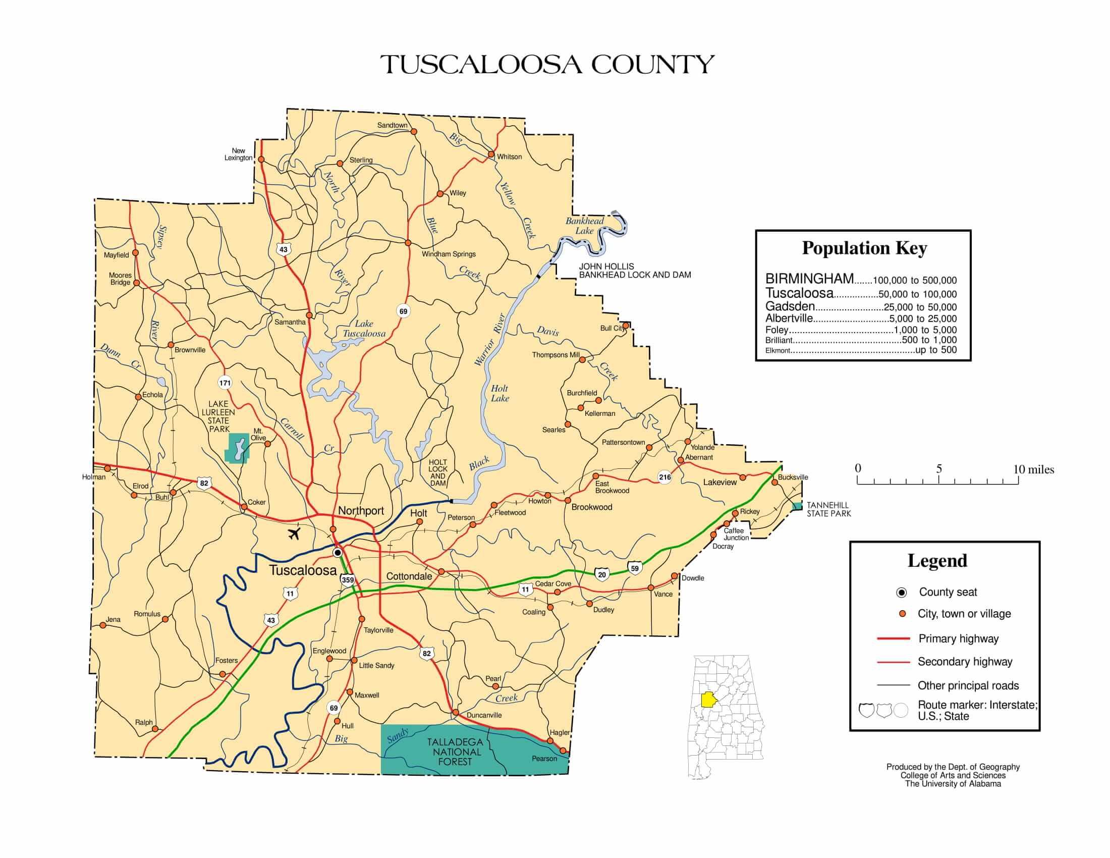 Printable Dfw County Map