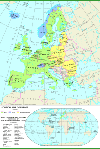 Map of Europe | Printable Large Attractive HD Map of Europe