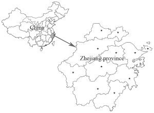 Map of Zhejiang Province | Political, Geography, And Transportation Map