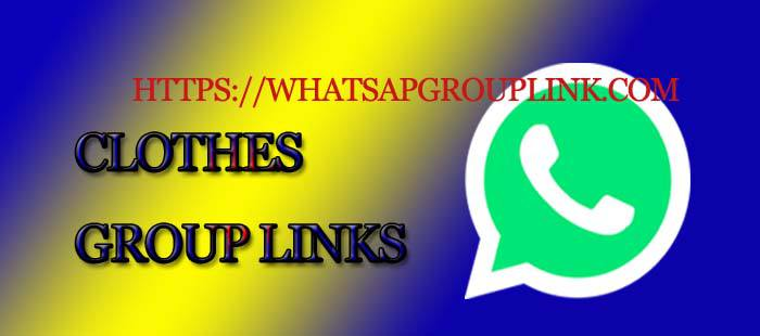 Ladies Clothes WhatsApp Group Link List - Whatsapp Group Link