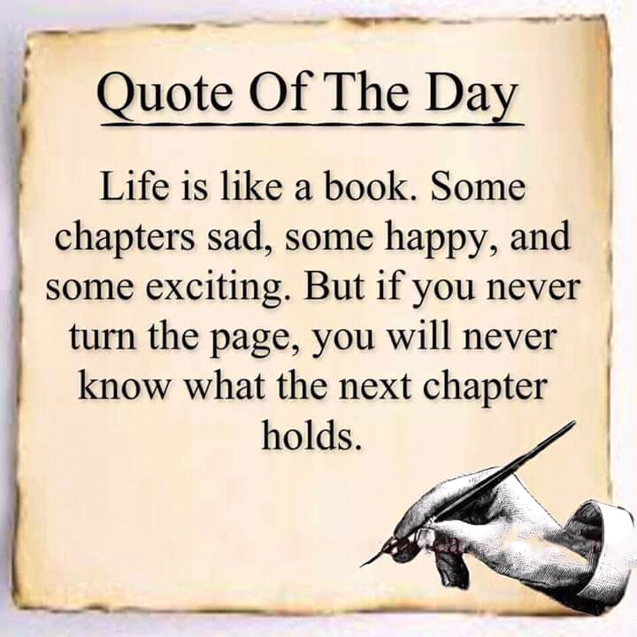 Quotes About New Chapters Life