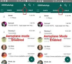 How to enable Airplane mode